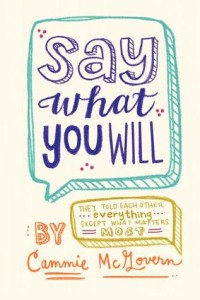 say what you will cover
