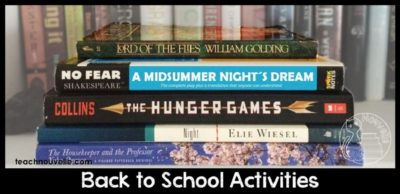 Need a fresh activity for back to school? Check out this blog post for some back to school anticipation, preparation, and celebration at teachnouvelle.com.