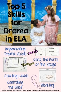 Drama in ELA - How to build the skills your students need for confidence and success in any production.