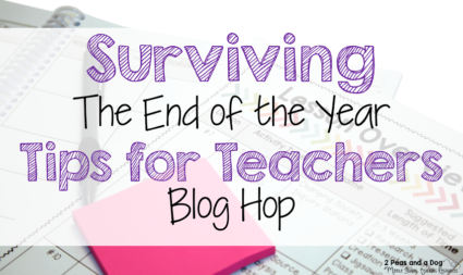 The end of school can be crazy, but check out this blog hop full of tips for Calming the Year End Chaos. Tip #8 from Danielle @ Nouvelle: Drama Games!