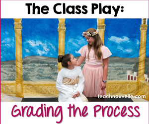 Evaluating drama can be tricky, but in the ELA classroom, it's important to still hold students accountable. Here's how I assess a variety of skills. This is a mix of objective and subjective assessments every step of the way in the process of putting together a class play. This is applicable for every drama activity in the ELA classroom.