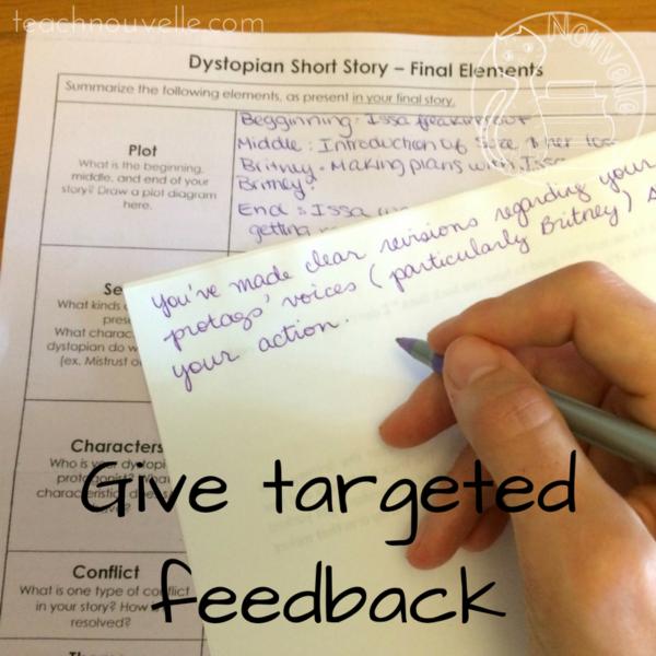 short-story-workshop-teacher-feedback - Nouvelle ELA Teaching Resources