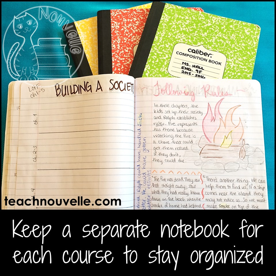 Using Interactive Notebooks to teach a class novel can be rigorous and engaging, even for middle and high school. Here are some tips and tricks for setting up your novel units. Read more at teachnouvelle.com