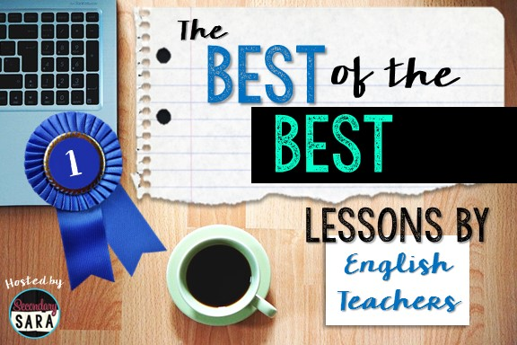 """Check out these """"BEST OF"""" resources by an amazing group of Secondary English teachers!"""