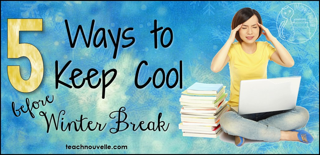 It can be challenging to keep students focused and engaged before the Winter Break, but these five tips will help you succeed! Save yourself stress and fatigue and check out these tricks today. Blog post includes a holiday gift freebie!