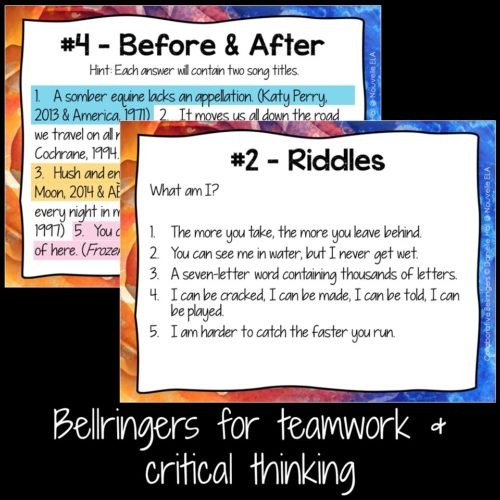 critical thinking problems for high school students They work together with students on activities to develop students' critical thinking camp for high school students real world stem problems for some.