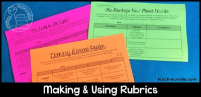 Effective rubrics are clear and well-designed, and can help increase feedback to students and decrease grading time. Check out this blog post to figure out which rubric style works for you.