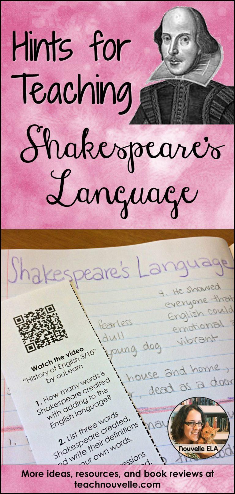 Shakespeare essays