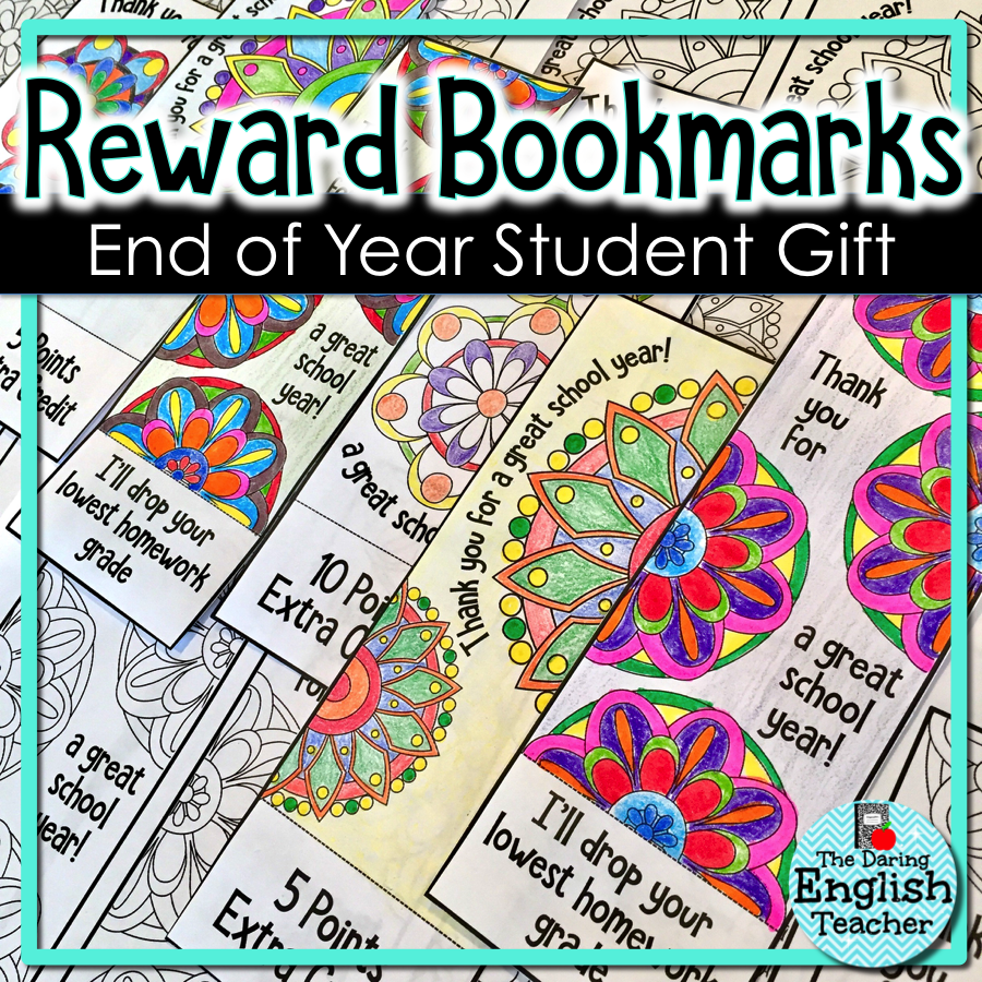 Student Gifts: Free End of Year Printables for Big Kids ...