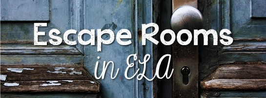 Escape Rooms in ELA Facebook group. Discuss & brainstorm how to best use Escape Rooms and Breakout Boxes in your Secondary ELA classroom.
