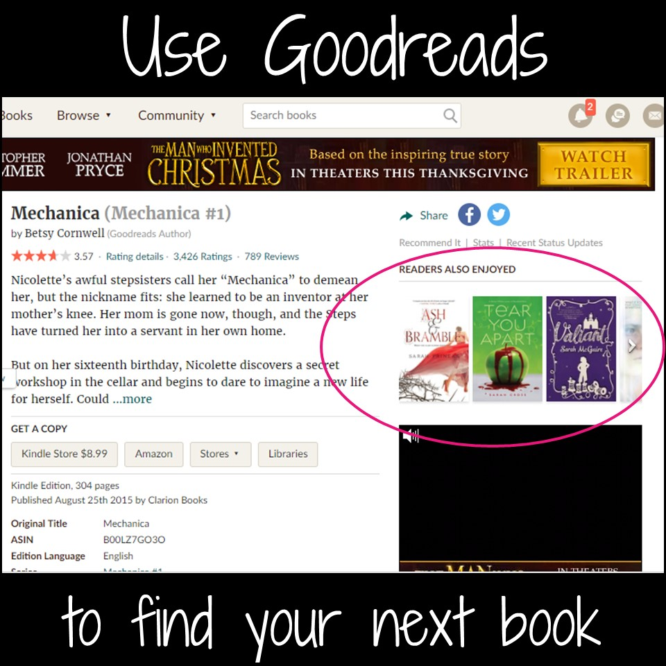 As students become more confident readers, they want to know what to read next. Here are some ways you can make solid book recommendations for teens. (blog post at teachnouvelle.com)