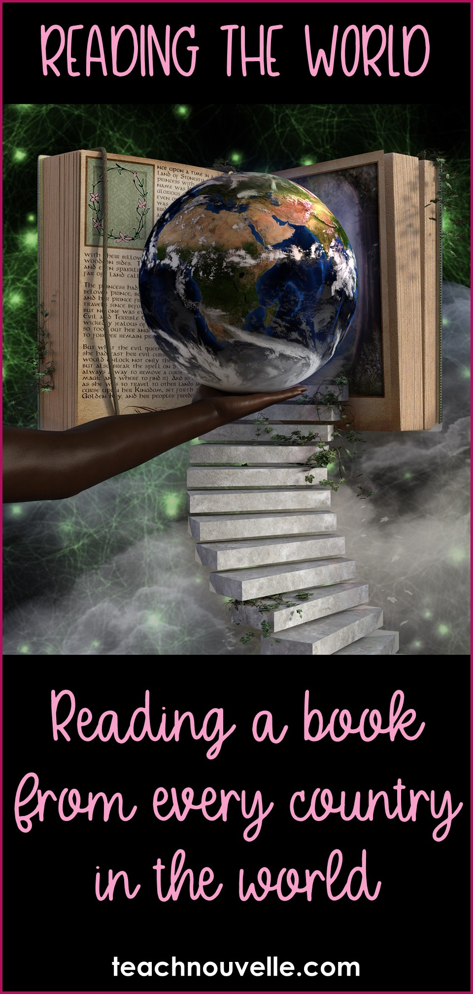 Reading the World Challenge - Here's a master list of titles and recommendations as I read a book from every country in the world. (blog post from teachnouvelle.com)