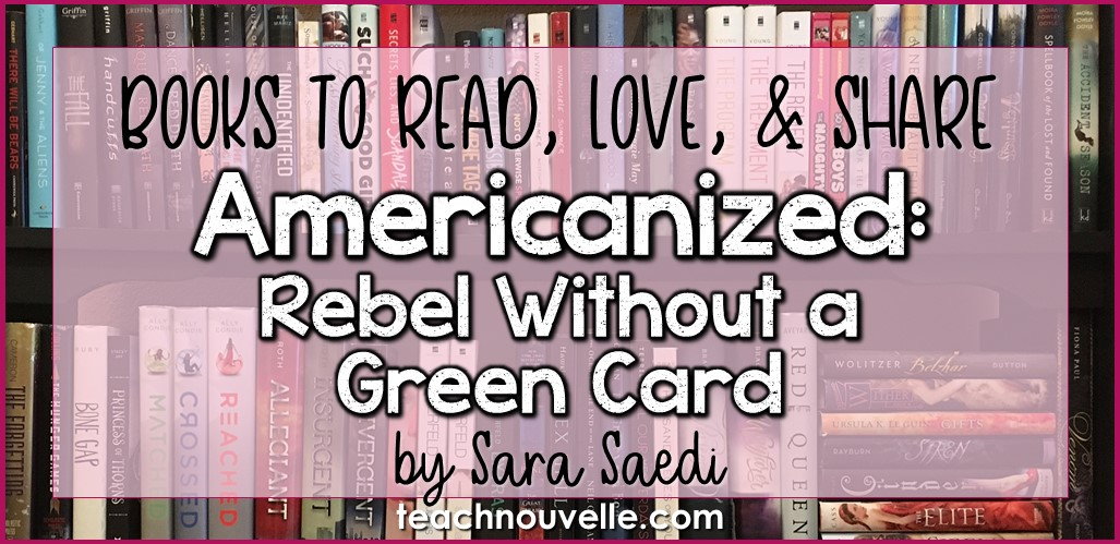 Americanized by Sara Saedi Book Review Cover