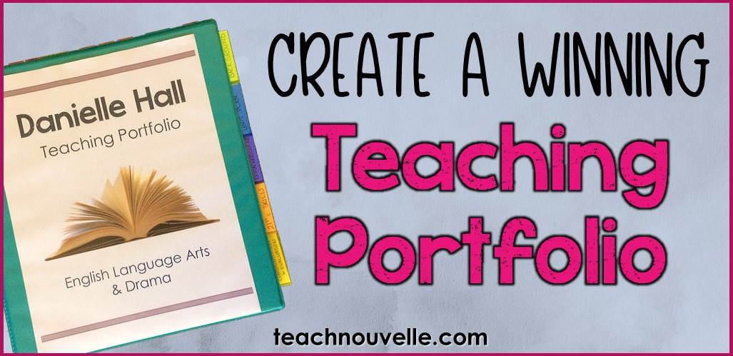 Create a Winning Teaching Portfolio