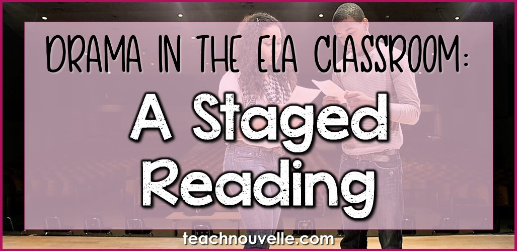 Staged Readings in ELA cover