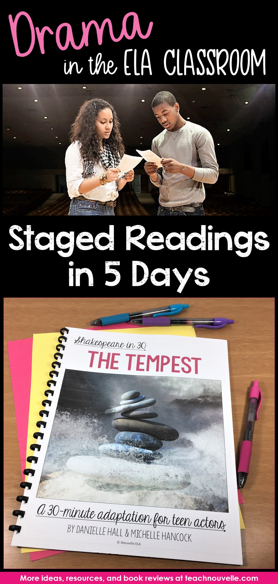 Staged Readings in ELA pin