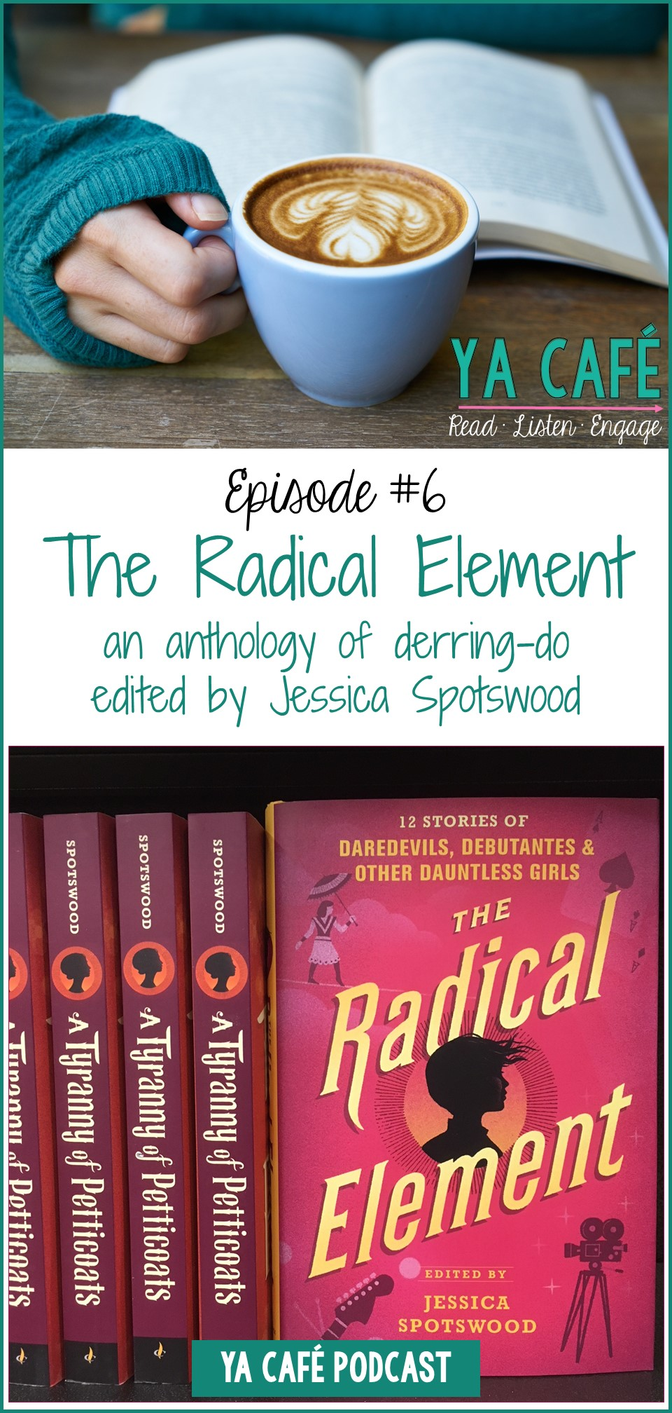 The Radical Element by Jessica Spotswood pin