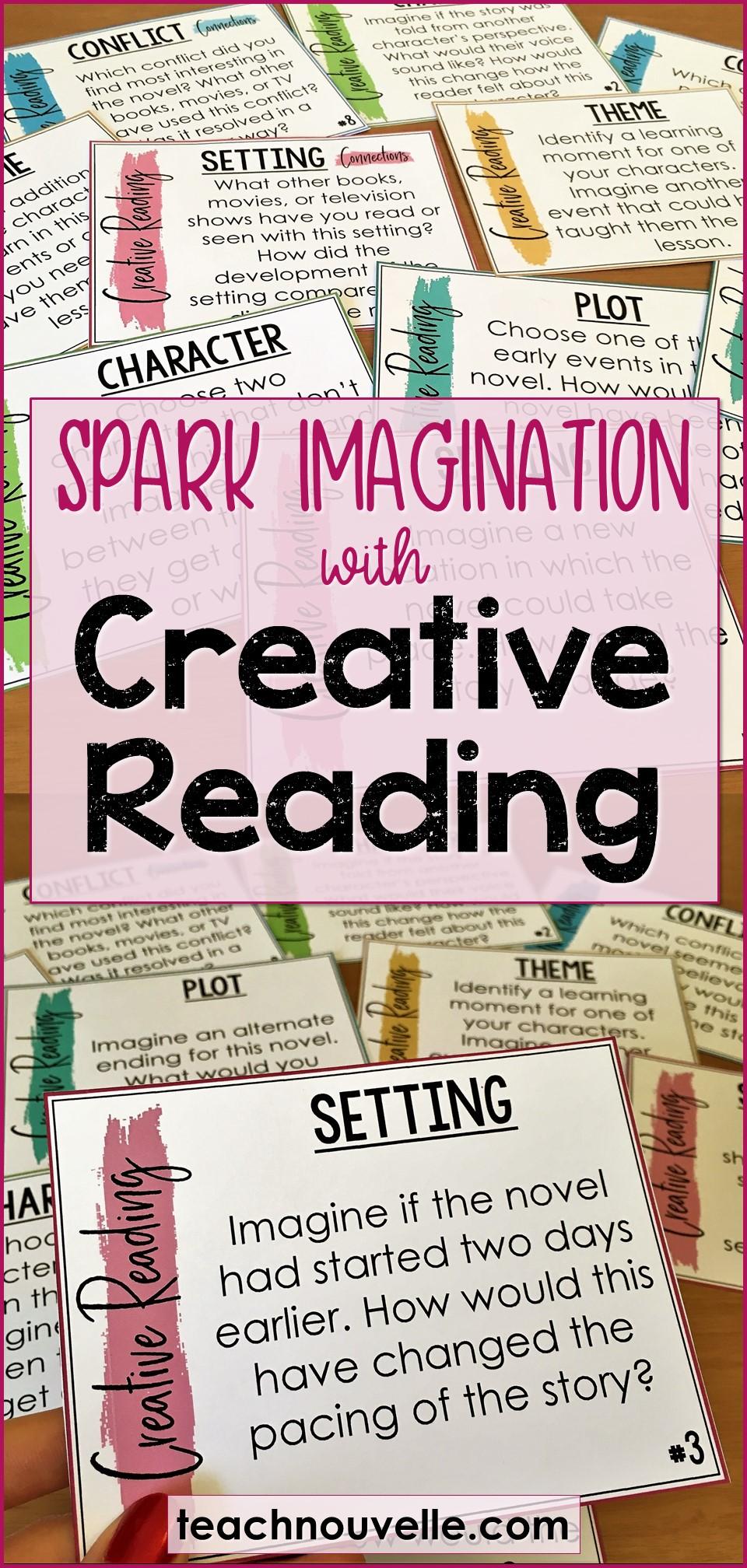 Creative Reading pin