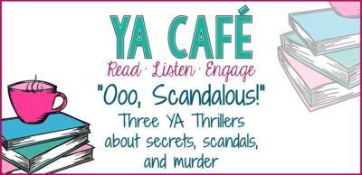 Three YA Thrillers podcast cover