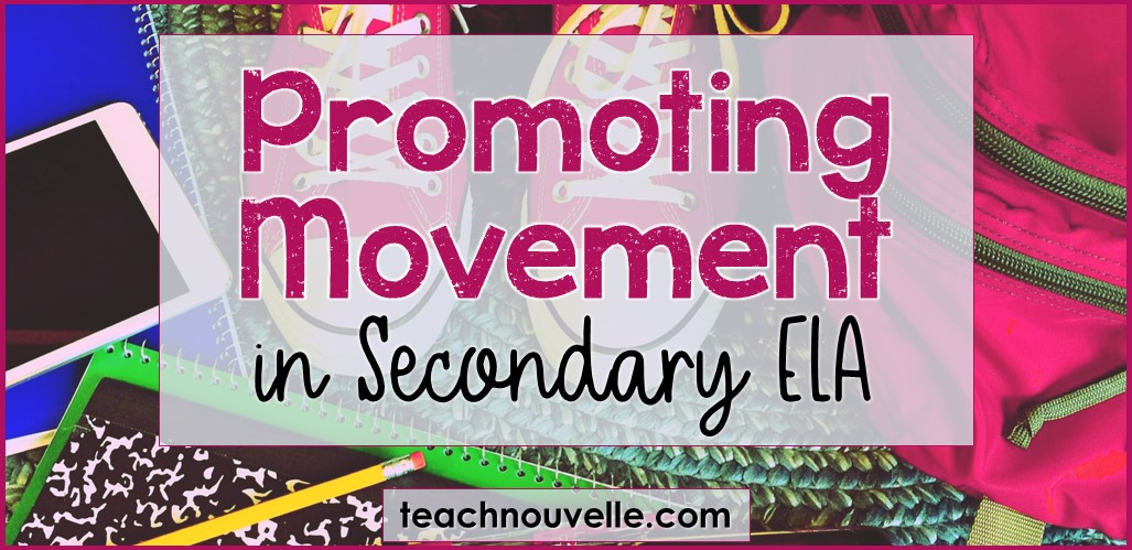 Promoting Movement in the Classroom IG