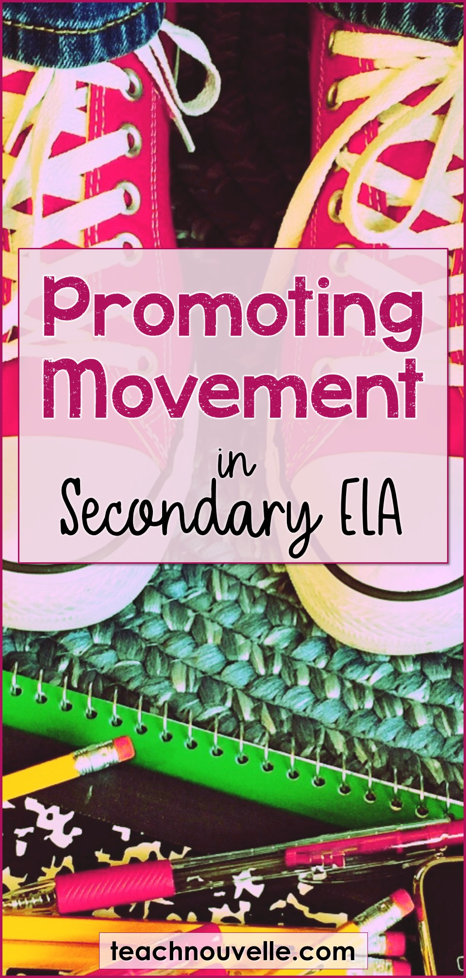 Promoting Movement in the Classroom pin
