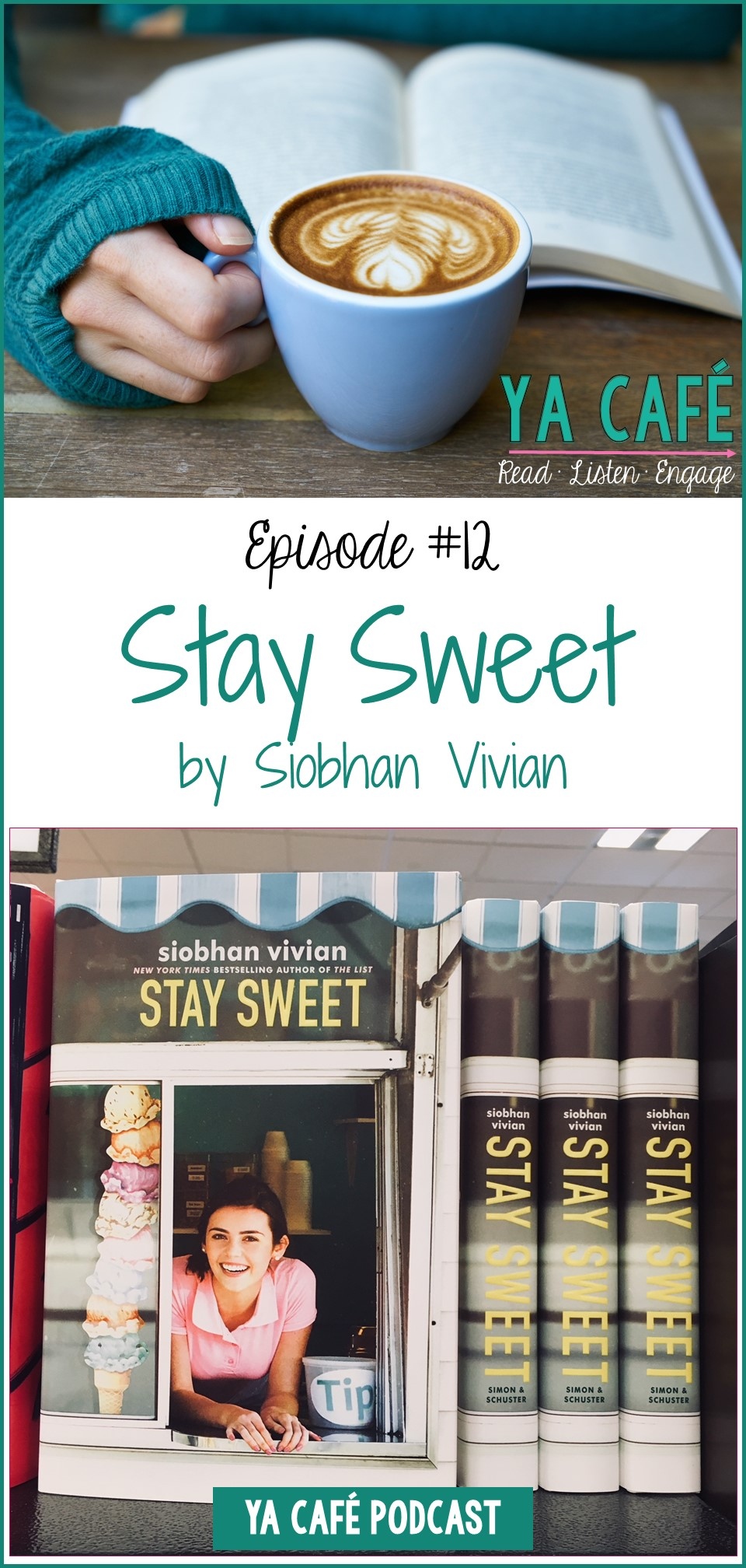 12 Stay Sweet Siobhan Vivian pin