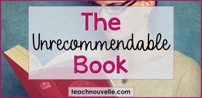 The Unrecommendable Book cover