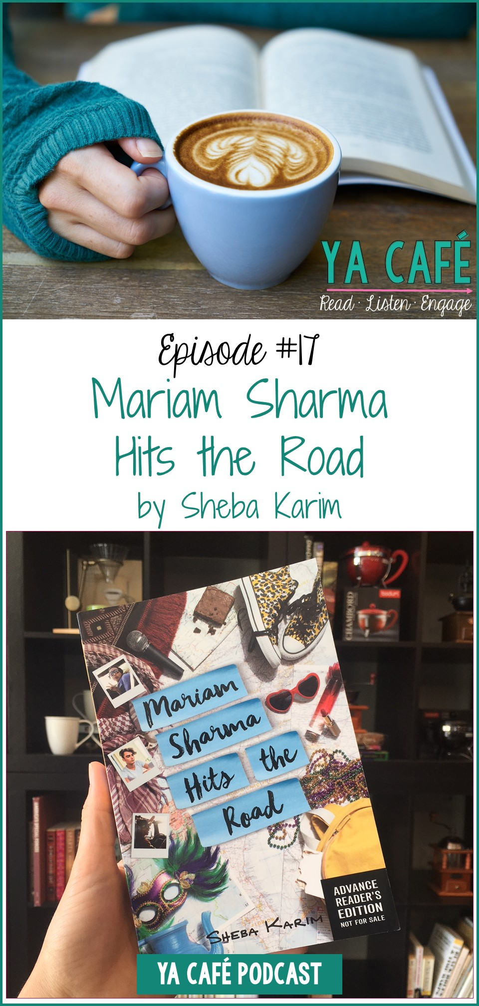 Mariam Sharma Hits the Road Sheba Karim pin