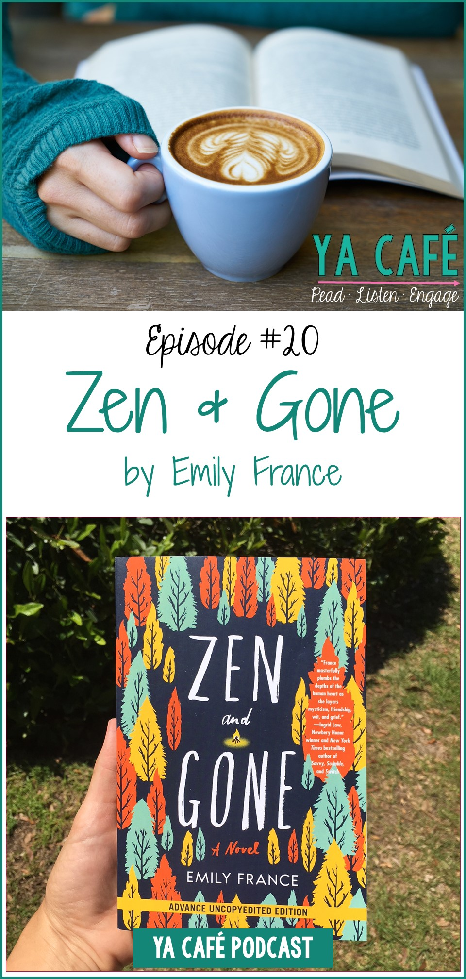 20 Zen and Gone Emily France pin