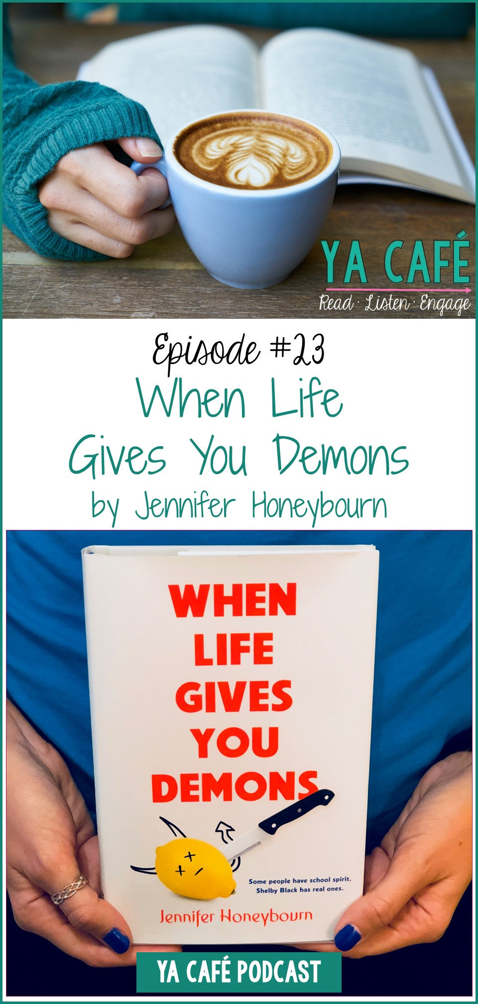 When Life Gives You Demons Jennifer Honeybourn pin