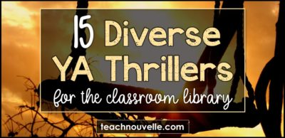15 Diverse YA Thrillers blog post cover