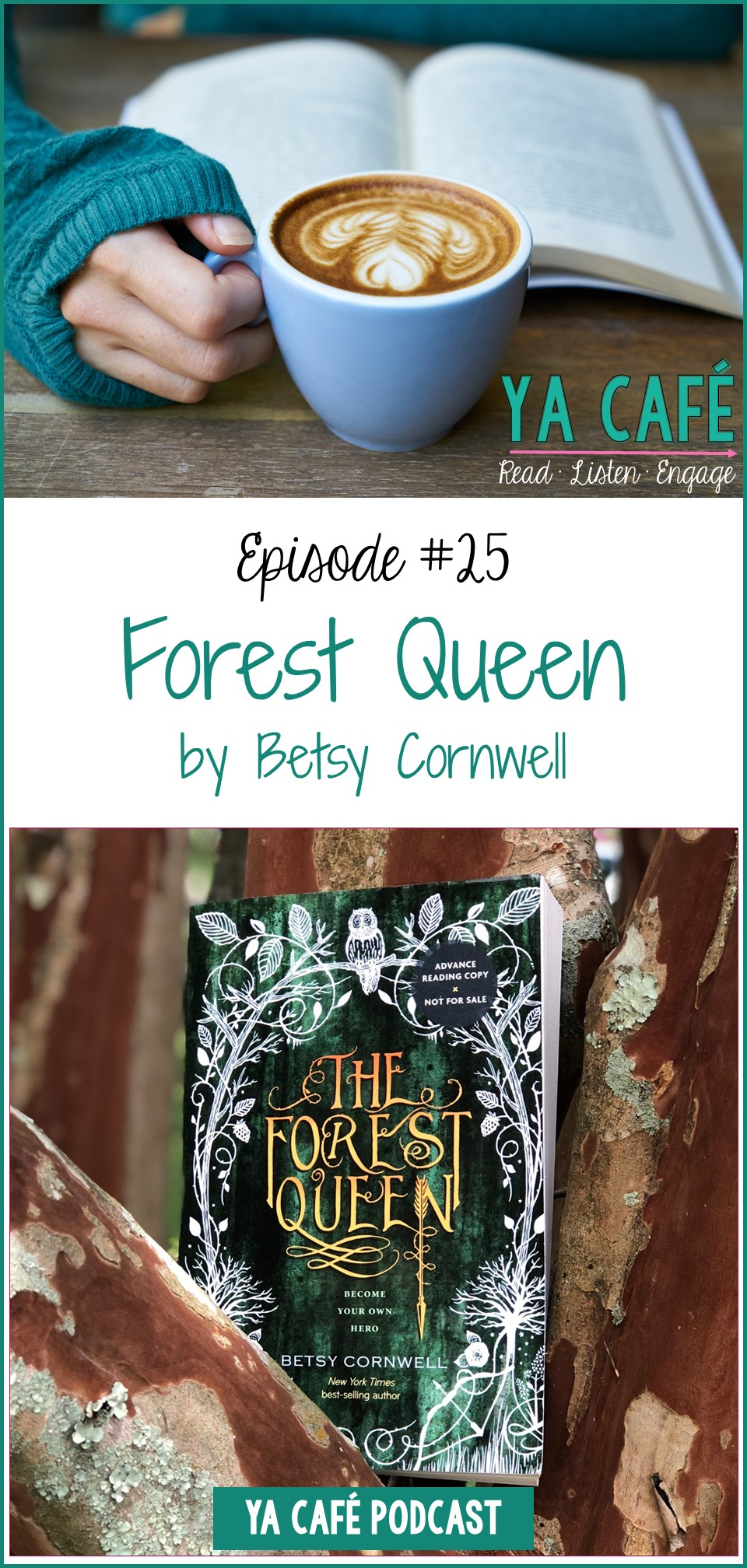 25 Forest Queen Betsy Cornwell
