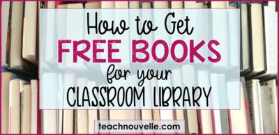 Free Books for the Classroom Library