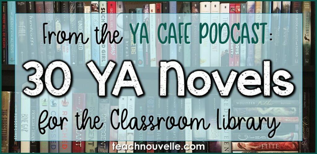 30 Diverse YA Novels - YA Cafe Podcast IG
