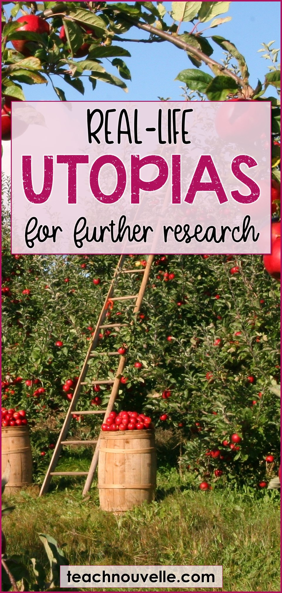 Real-Life Utopias to Share in the Classroom pin