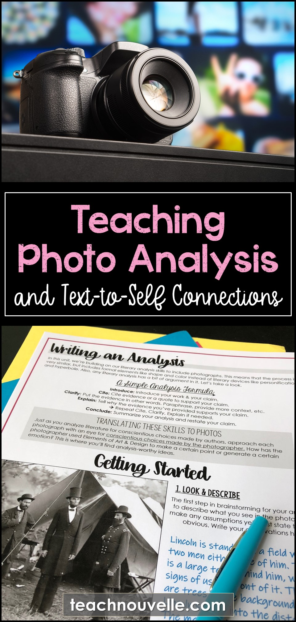 Teaching Photo Analysis pin