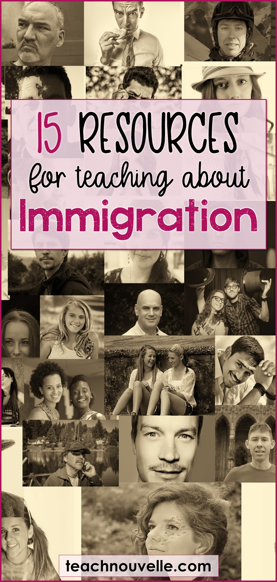 15 Resources for Teaching about Immigration pin