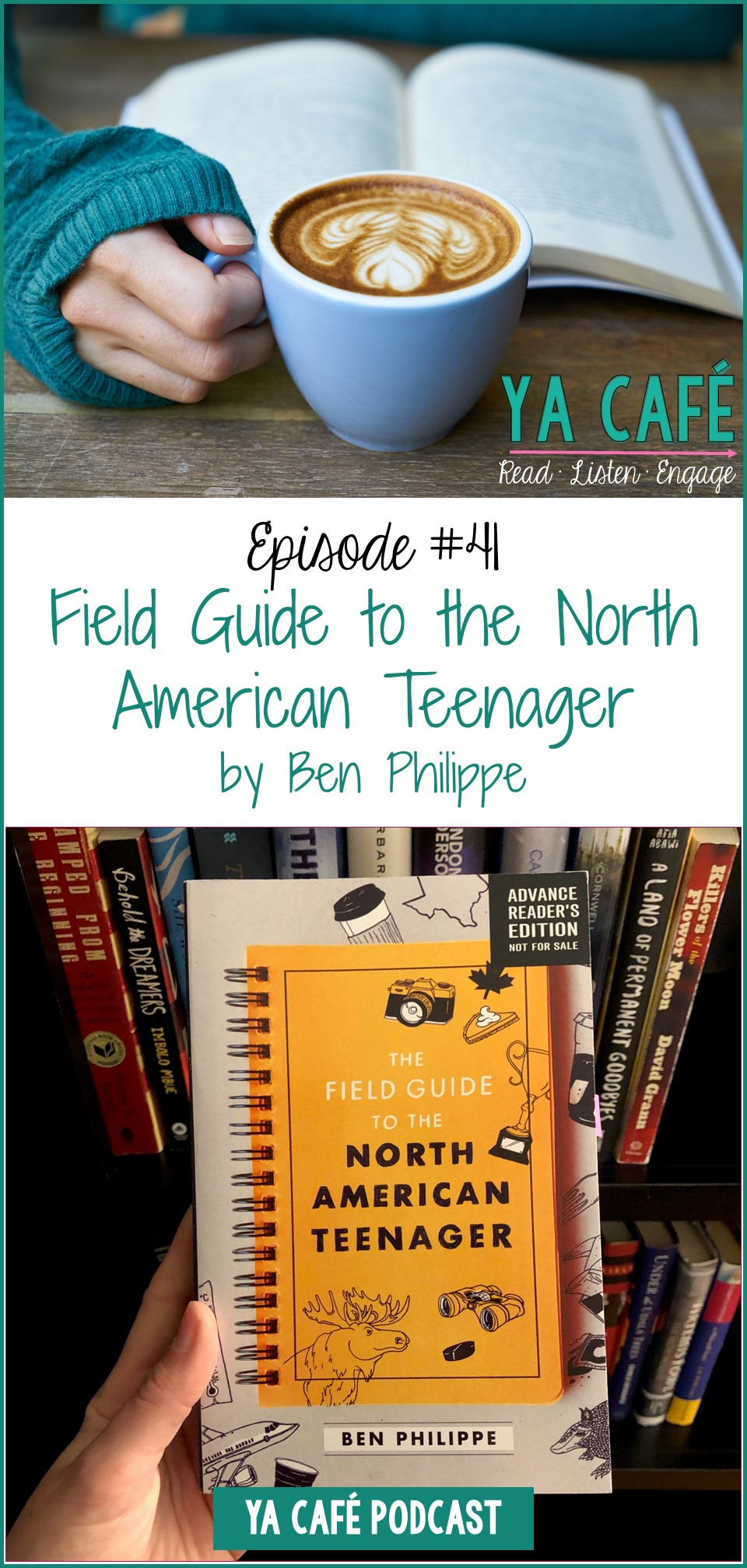 42 The Field Guide to the North American Teenager by Ben Philippe