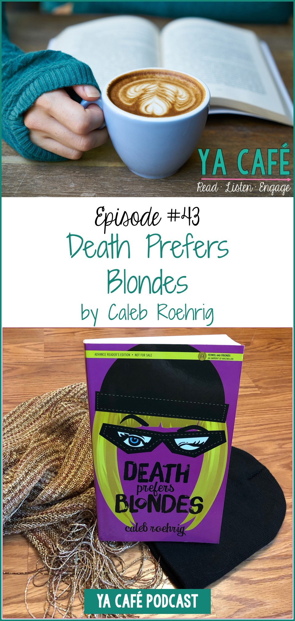 43 Death Prefers Blondes by Caleb Roehrig