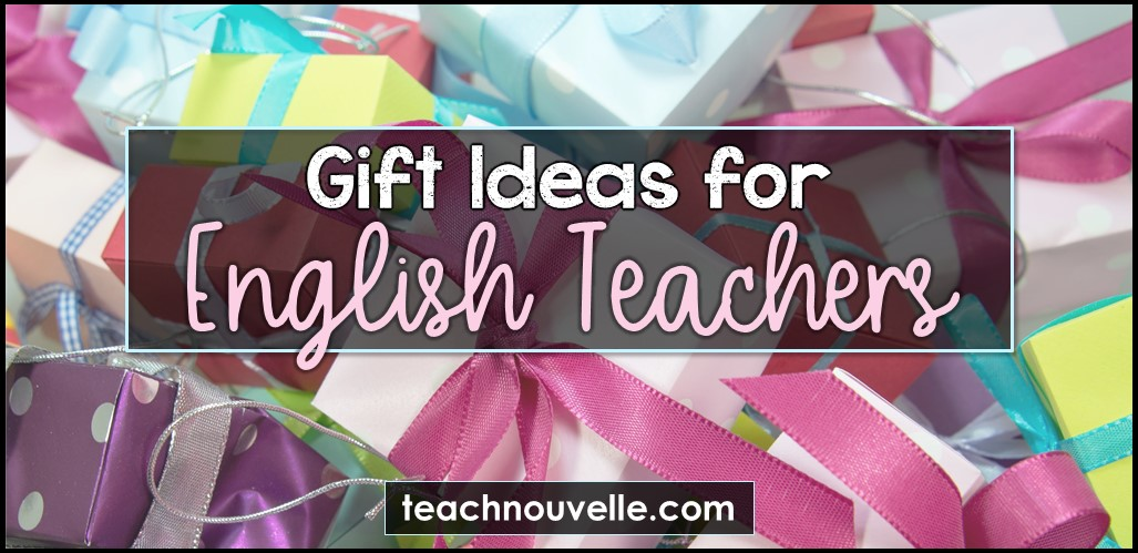 Gifts for English Teachers cover