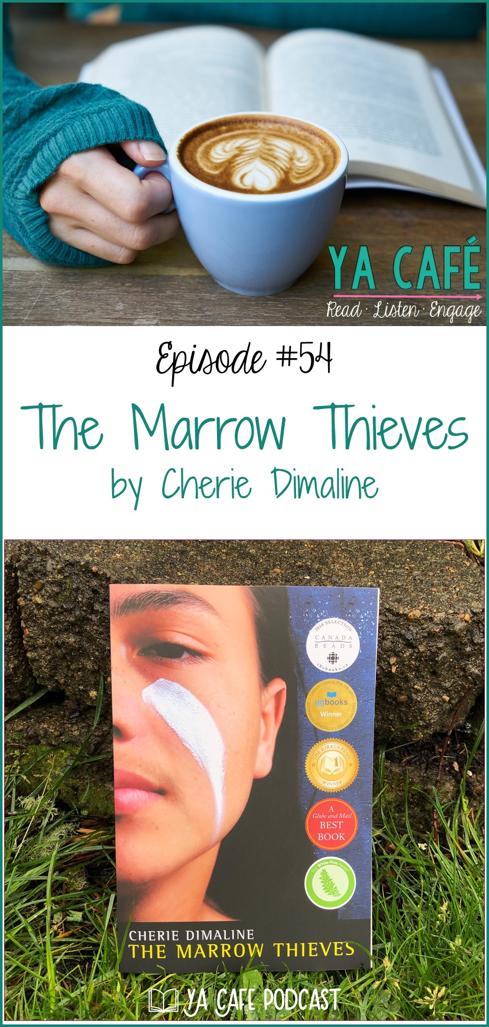 54 The Marrow Thieves by Cherie Dimaline
