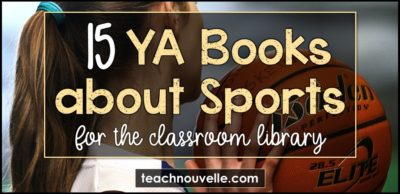 15 YA Books about Sports cover