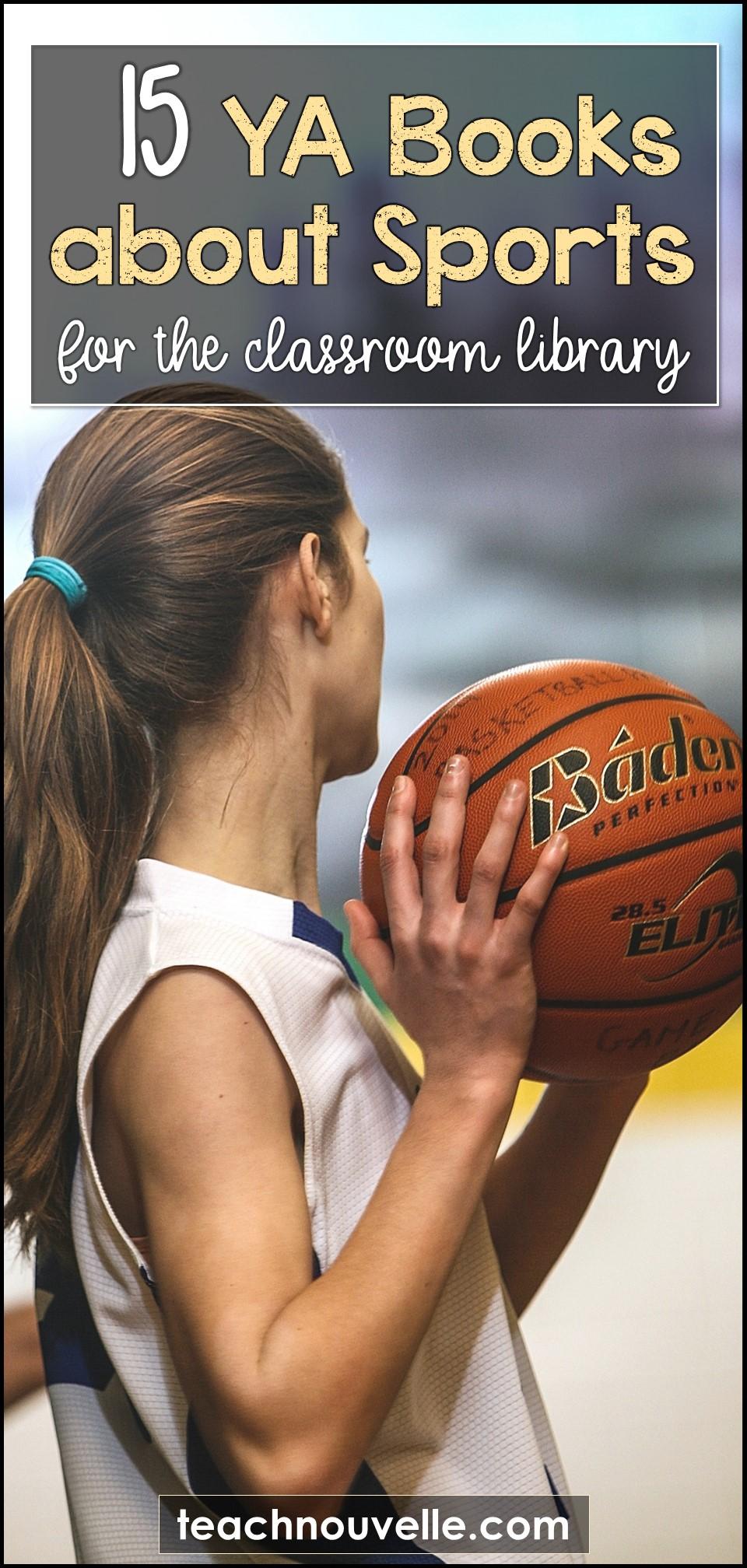 15 YA Books about Sports pin