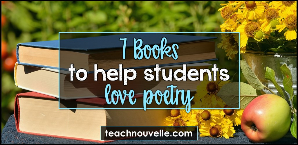 7 Books for Teaching Poetry cover