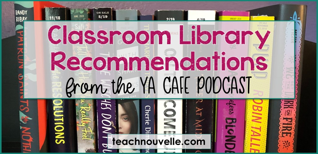 More Diverse YA Novels from the YA Cafe Podcast