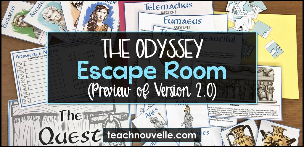 Inside The Odyssey Interactive Escape Room Nouvelleela