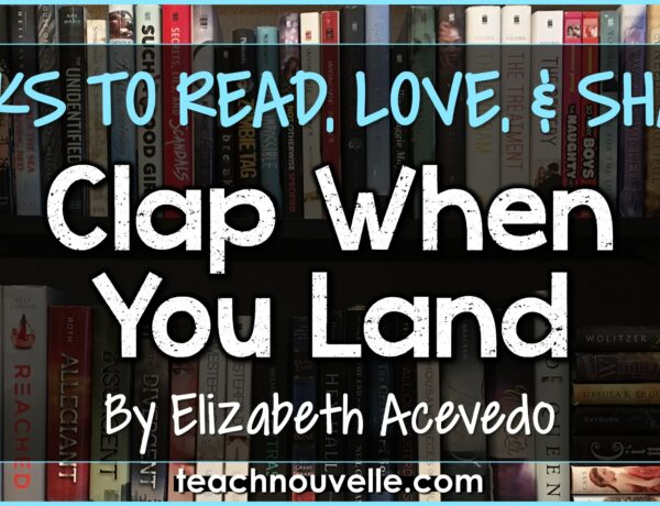 Books to Read, love, and share: Clap When You Land by Elizabeth Acevedo cover